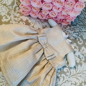 Carter's Gold occasion baby dress